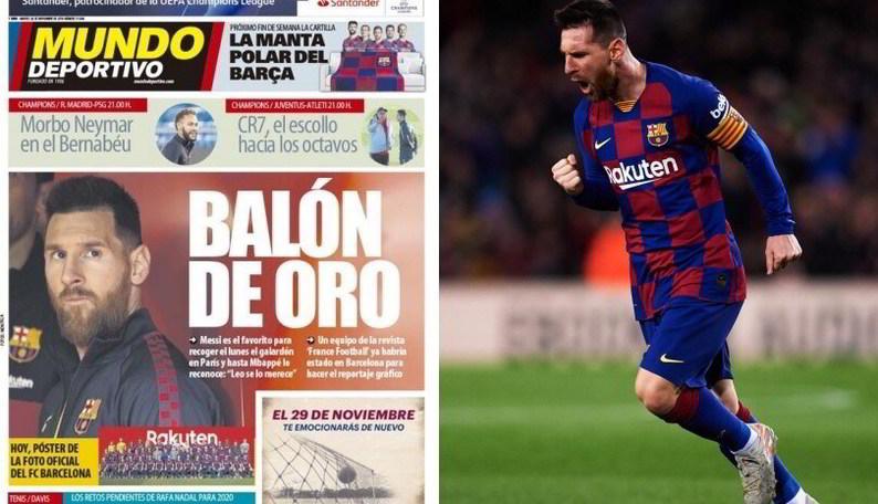 In Spagna sicuri: Pallone d'Oro a Messi