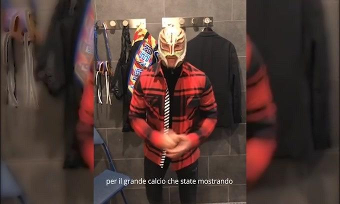 "Rey Misterio saluta Milinkovic: ""Grande Sergente"""