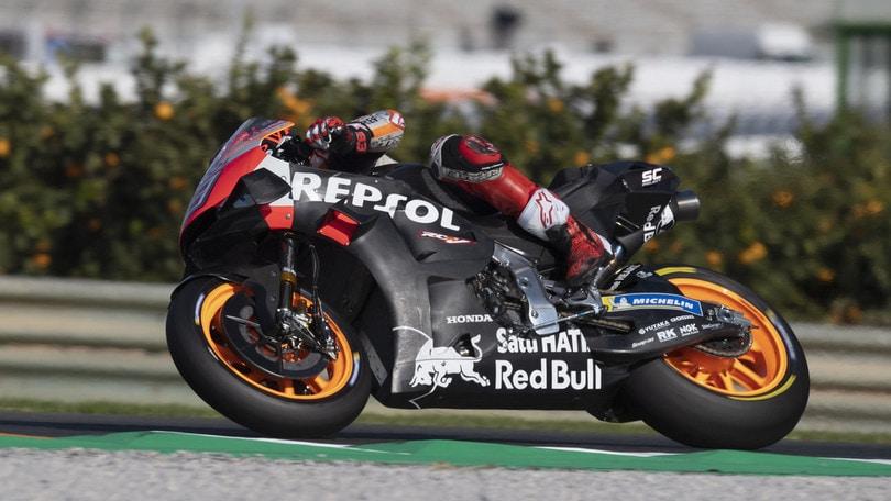 MotoGp test Jerez: Marquez chiude in testa. Domani operazione alla spalla