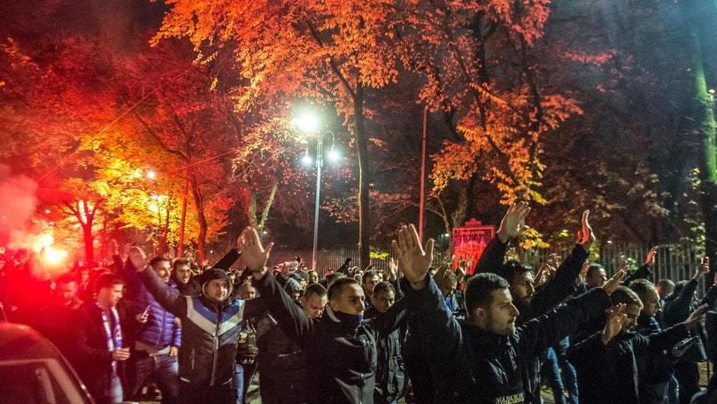 Champions League, alta tensione tra tifosi di Atalanta e Dinamo Zagabria