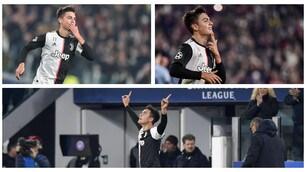 Champions, magia di Dybala e la Juventus vola agli ottavi da prima