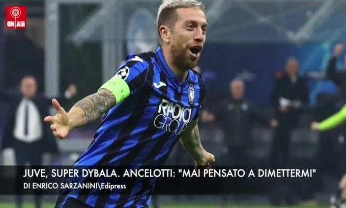 "Juve, super Dybala. Ancelotti: ""Mai pensato alle dimissioni"""