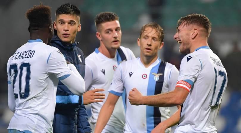 La Lazio punta sulla Champions:in Europa League big a riposo