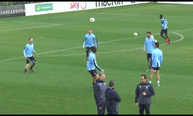 Lazio, squadra al lavoro verso la sfida contro il Cluj