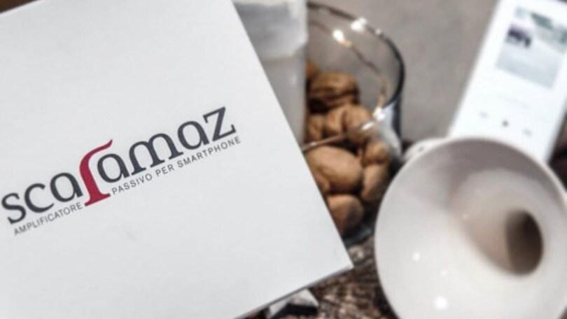 Scaramaz: l'amplificatore green per smartphone 100% Made in Italy