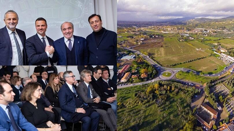 Commisso presenta il nuovo centro sportivo della Fiorentina