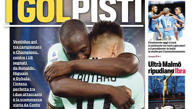 "Lukaku-Lautaro: ""I golpisti"". Napoli-ADL, oggi il confronto"