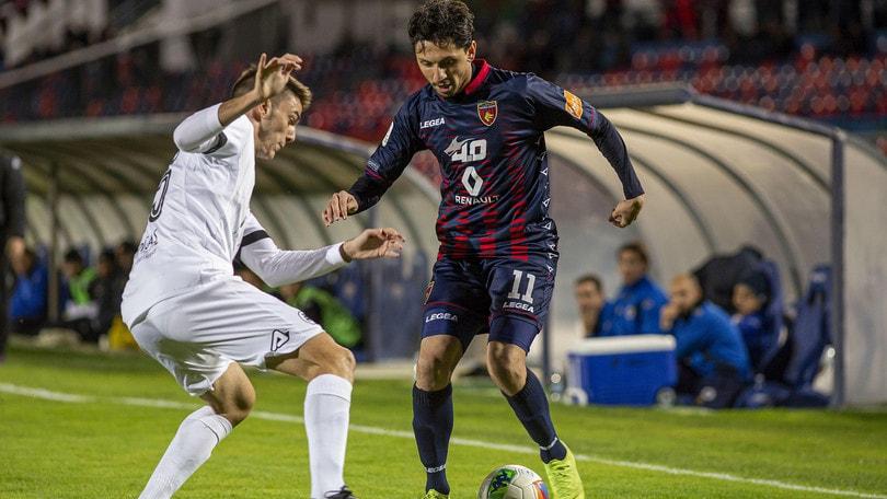 Prodezza di Rivière, poi Ragusa: tra Cosenza e Spezia termina 1-1