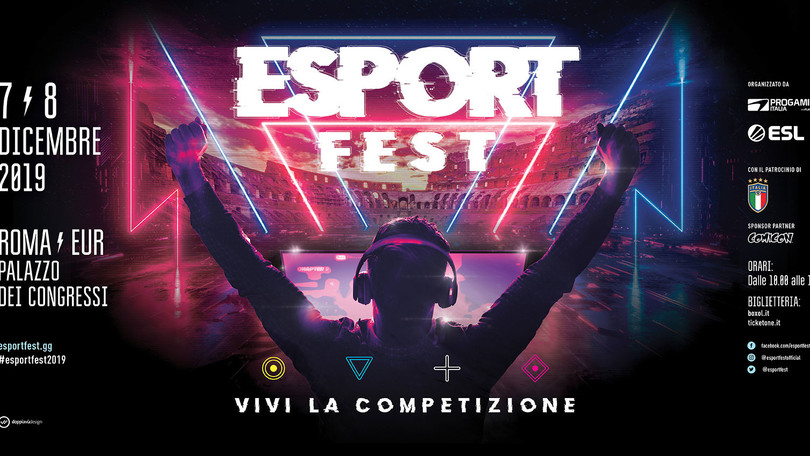 Roma capitale anche del gaming: arriva l'EsportsFest