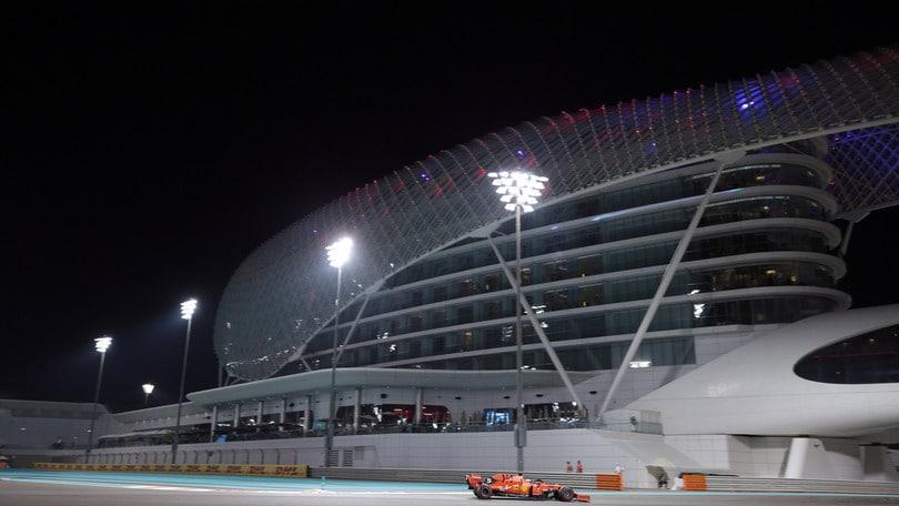 F1, Gp Abu Dhabi: griglia di partenza e diretta in TV