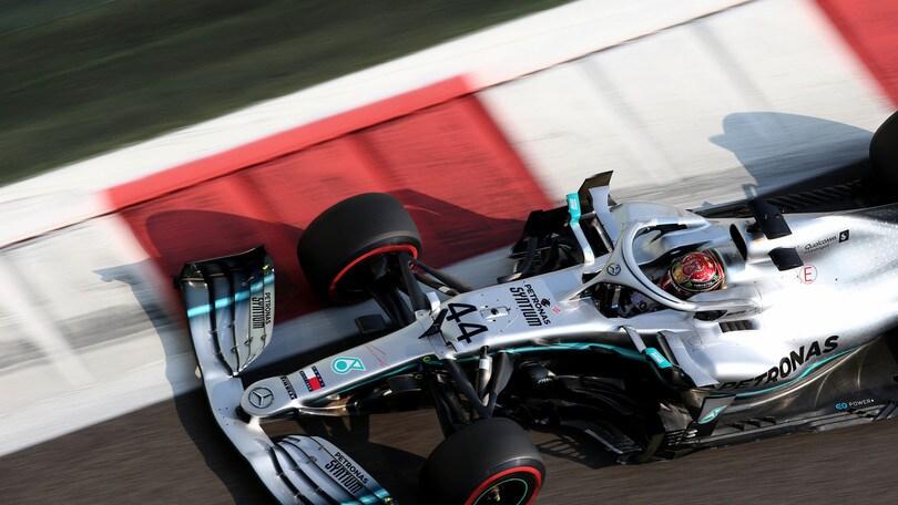 """Gp Abu Dhabi, Hamilton: """"Felice di chiudere l'anno con una pole"""""""