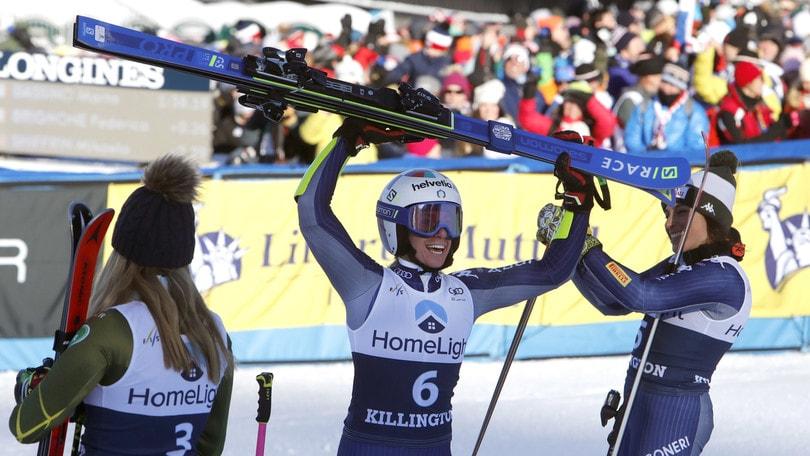 Bassino-Brignone, doppietta Italia nello slalom gigante di Killington