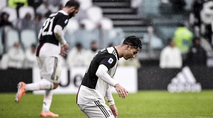 Juventus-Sassuolo 2-2: Ronaldo non basta a Sarri