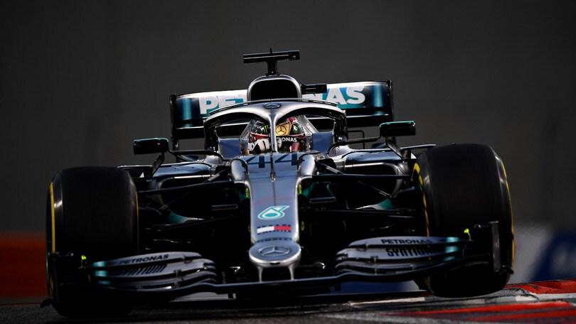 "Gp Abu Dhabi, Hamilton: ""Sono orgoglioso, Mercedes opera d'arte"""