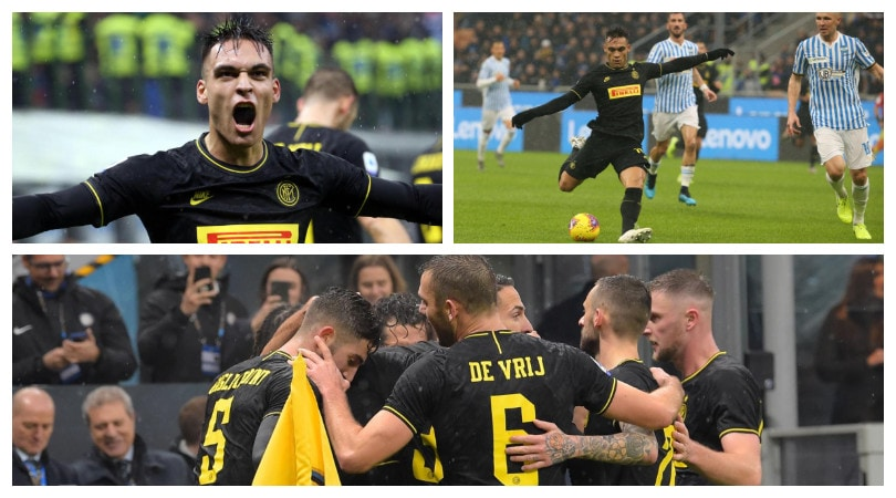 Sorpasso Inter. Lautaro Martinez protagonista contro la Spal