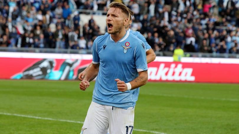 Lazio, i numeri stratosferici di Immobile: superato Lewandowski, punta Higuain