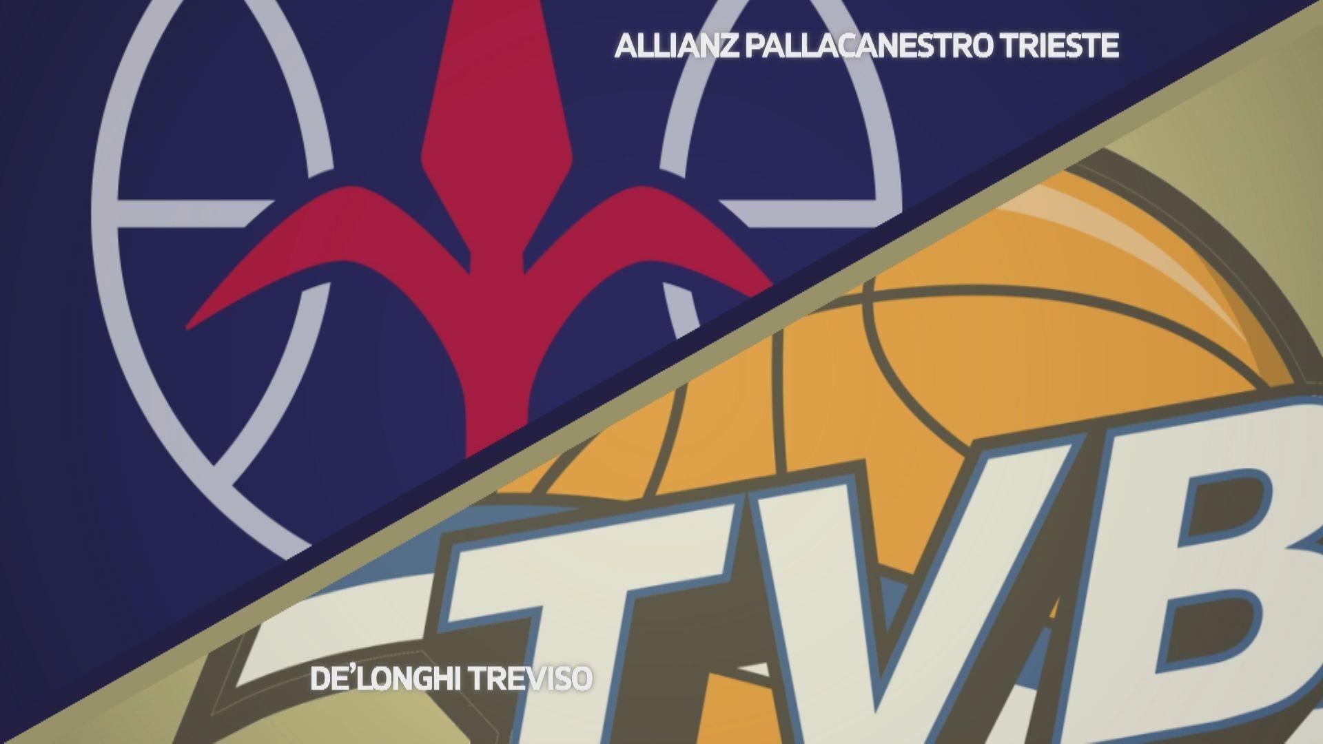 Allianz Pallacanestro Trieste - Dè Longhi Treviso 69-61