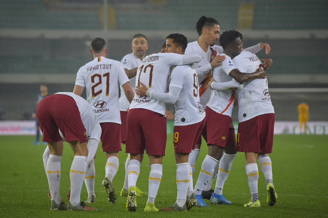 Fonseca comanda, Pellegrini illumina: Roma da Champions a Verona
