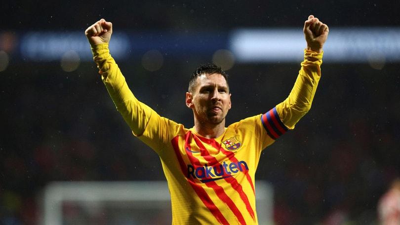Messi riacciuffa il primato: Atletico Madrid-Barcellona 0-1