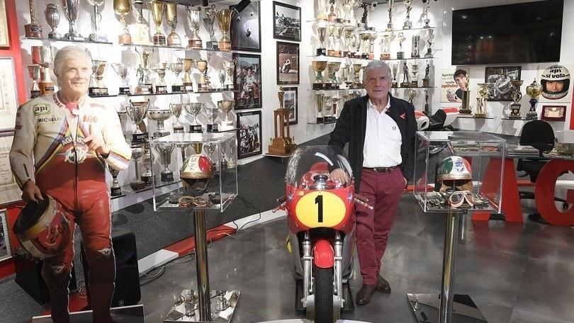 Giacomo Agostini, a Bergamo la casa-museo del campionissimo