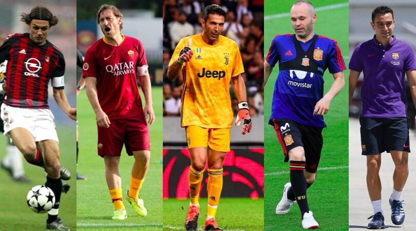 Da Totti a Buffon, 21 fenomeni che non hanno vinto il Pallone d'Oro