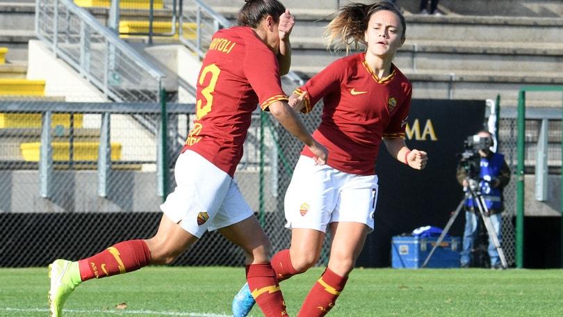 """La Roma vince ma non convince, Bavagnoli: """"Manca brillantezza"""""""
