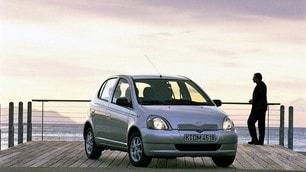 Toyota Yaris, tutte le generazioni: FOTO