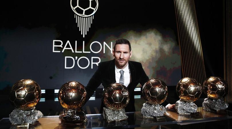 Pallone d'Oro a Messi: è il sesto! 3° Cristiano Ronaldo