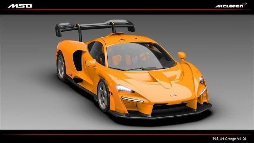 McLaren Senna LM, ecco il primo muletto