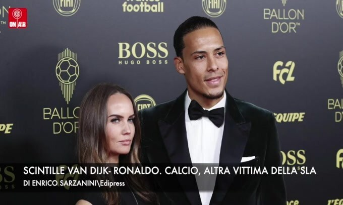 Scintille Van Dijk-Ronaldo. Calcio, altra vittima della Sla