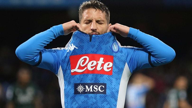 Mertens ha la febbre: altro problema per il Napoli