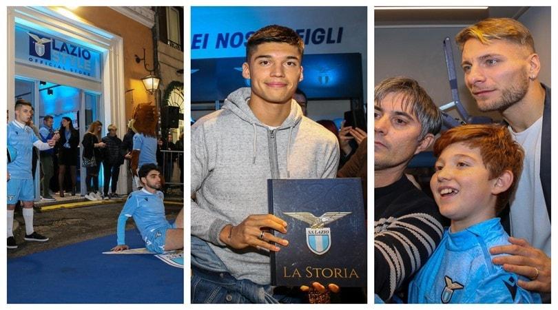 Lazio, ecco il nuovo store: 3000 tifosi per Immobile e compagni