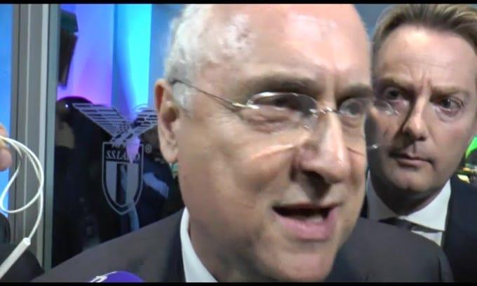 """Lotito: """"Mi auguro, contro la Juve, tanti tifosi"""""""
