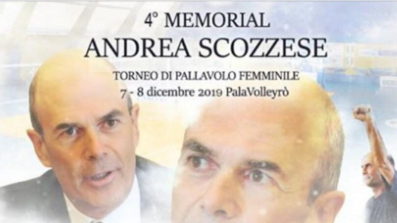 Il 7 e 8 dicembre il IV Memorial Andrea Scozzese
