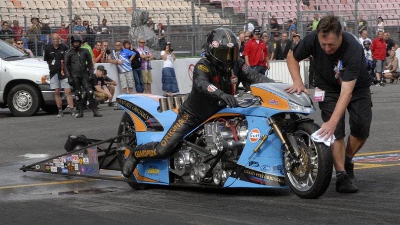 Top Fuel Bike, la Gulf di Ian King: il dragster da 1315 cavalli