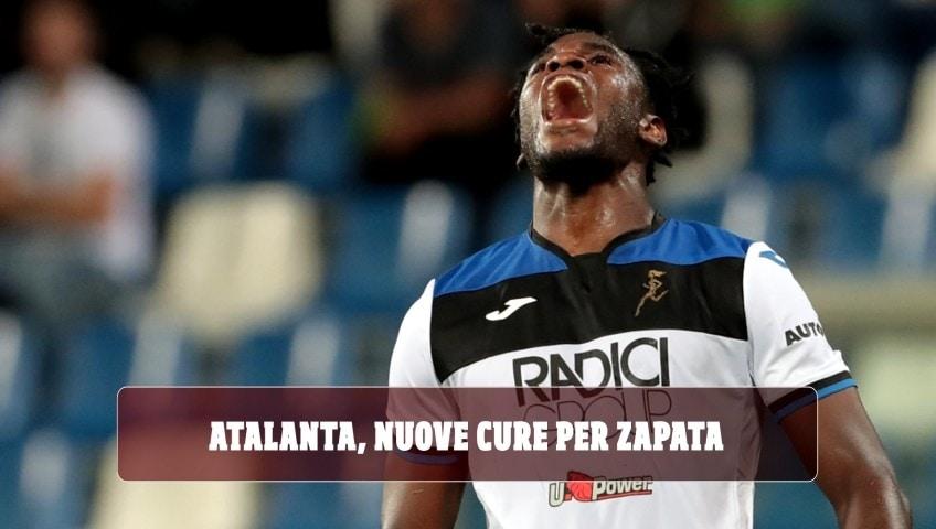 Atalanta, Zapata torna in Spagna a curarsi