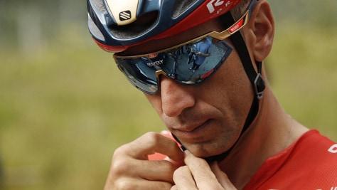 Nibali all'Aquila per postumi frattura al Tour de France. Il sindaco: