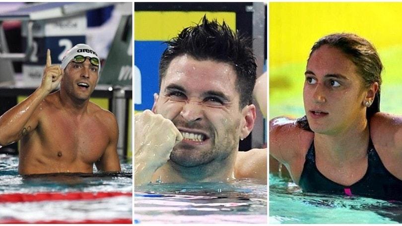 Europei in vasca corta: Quadarella e Detti in finale. Orsi trascina la 4x50 stile libero