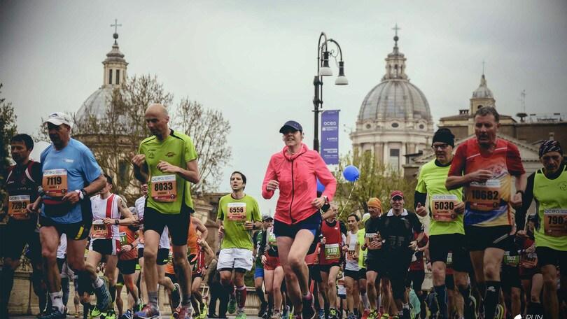 La carica dei 300 per Run Rome The Marathon Get Ready