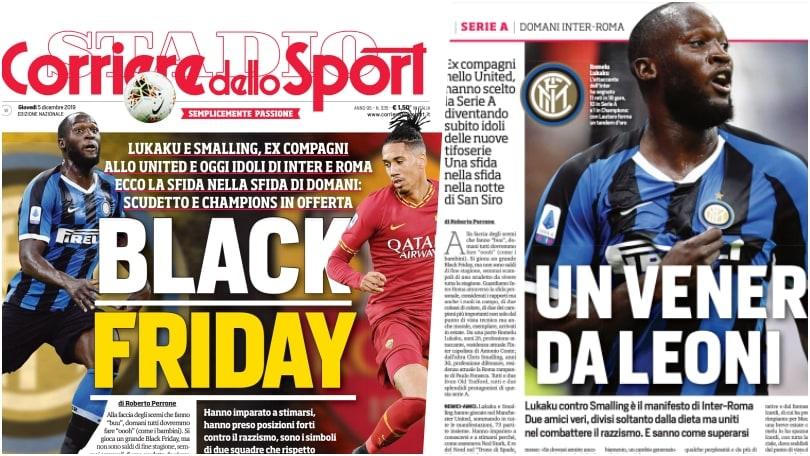 Le traduzioni del testo del Corriere dello Sport