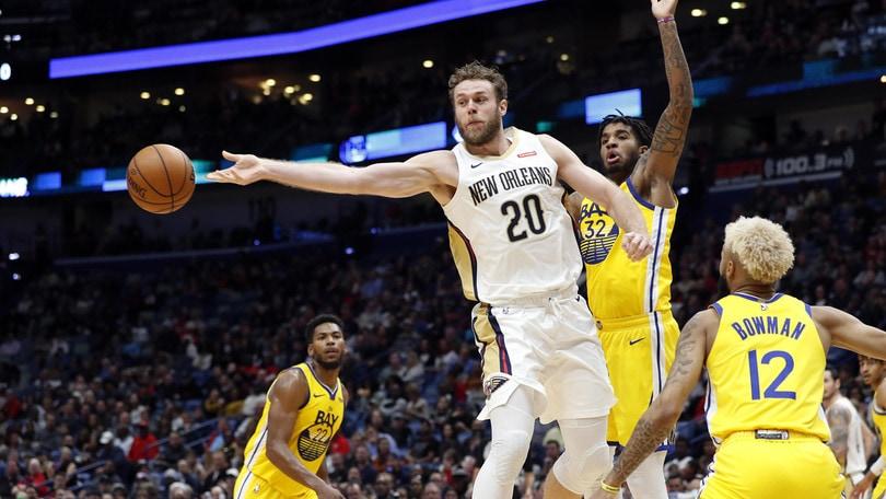 Nba, crollo dei Pelicans di Melli contro Dallas. Harden e Westbrook trascinano Houston