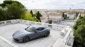 Ferrari Roma, nuove immagini