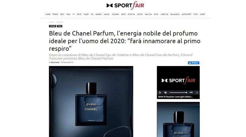 Bleu de Chanel lancia SportFair 2.0: l'incontro perfetto tra sport, lifestyle e luxury trends