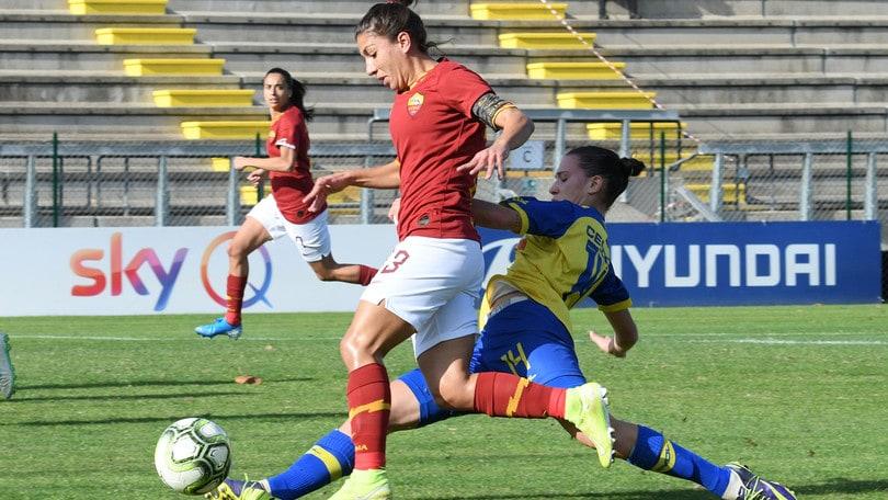 """La Roma sfida l'Inter, Bavagnoli: """"Concentrate anche sulla Coppa"""""""