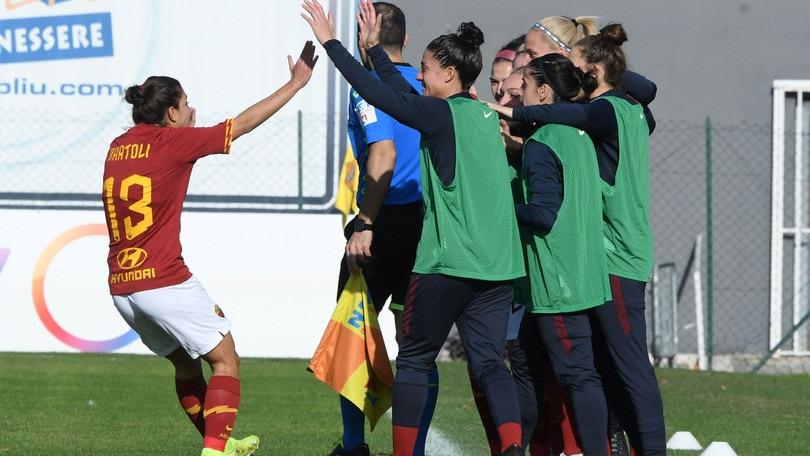 La Roma sfida l'Inter, Bavagnoli: