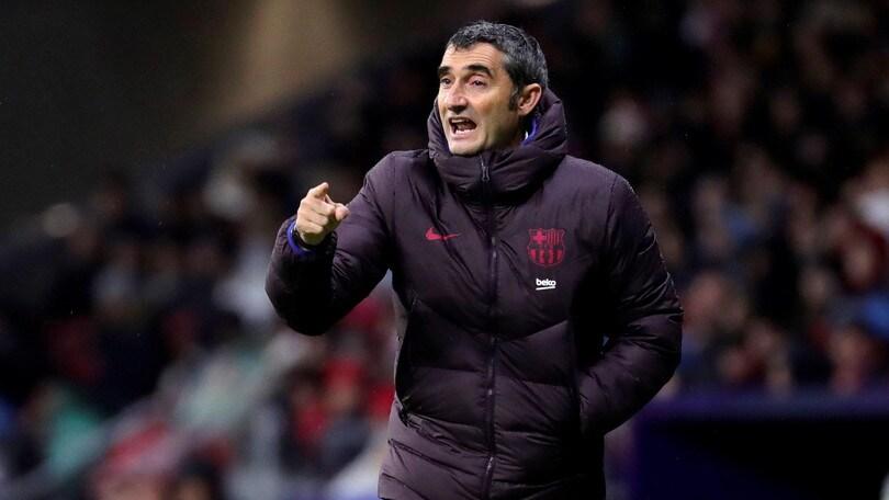 """Valverde: """"Inter? Il dovere del Barcellona è vincere"""""""