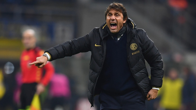 """Conte: """"Dispiaciuto per i fischi di alcuni tifosi dell'Inter"""""""