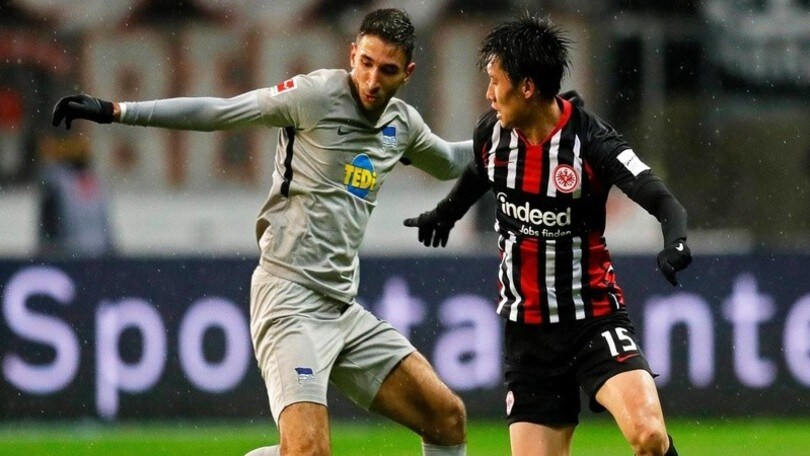 Bundesliga, Var protagonista nel 2-2 tra Eintracht ed Hertha Berlino