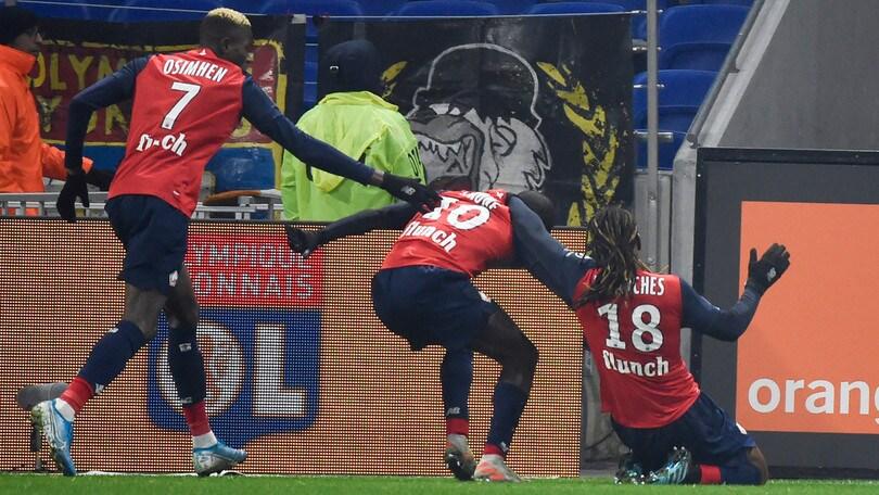 Ligue 1, Lilla-Montpellier 2-1: decide Renato Sanches