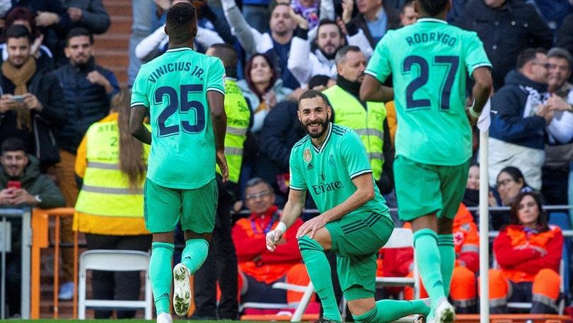 Il Real Madrid stacca il Barcellona: 2-0 all'Espanyol